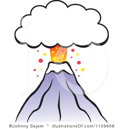 Clip Art Clipart Volcano animated volcano clipart kid clip art
