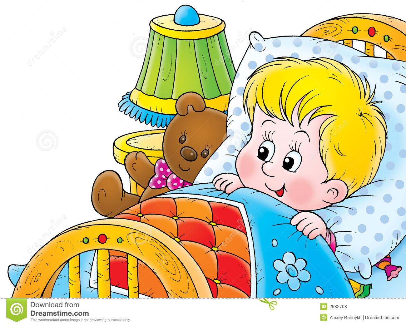 clipart of a girl waking up - photo #37
