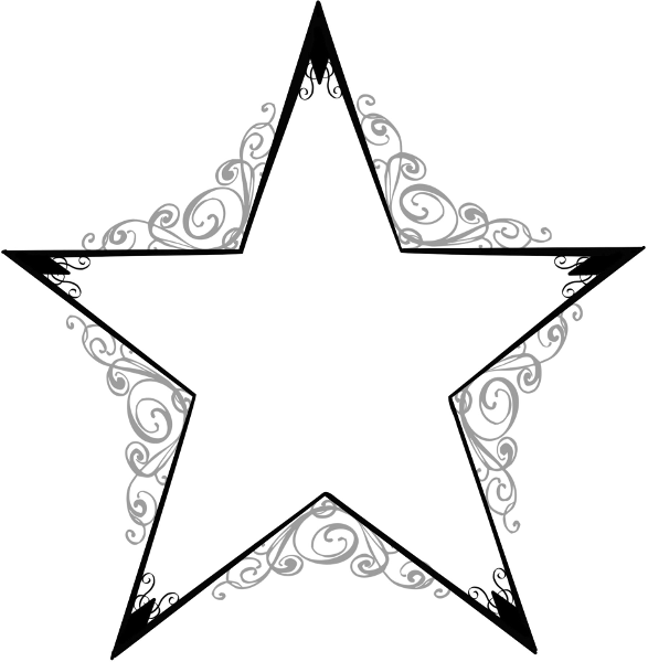 Back   Gallery For   Star Designs Clip Art