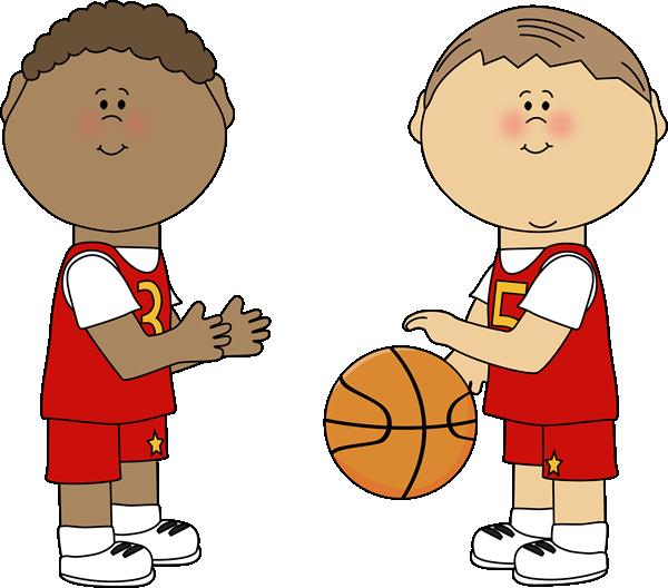 Boys Basketball Clip Art