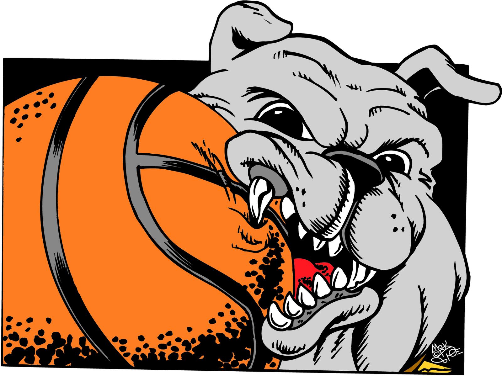 Bulldog Font Clipart
