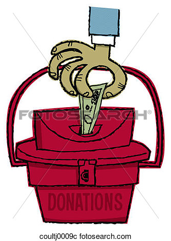 Stock Photography Of Donations Donating Money Cash Giving Charity