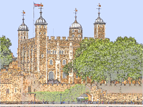 Tower Of London    Buildings Famous Tower Of London Png Html