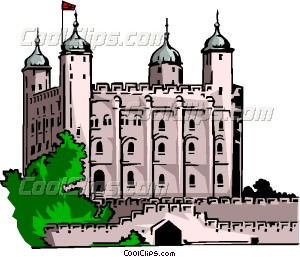 Tower Of London Vector Clip Art