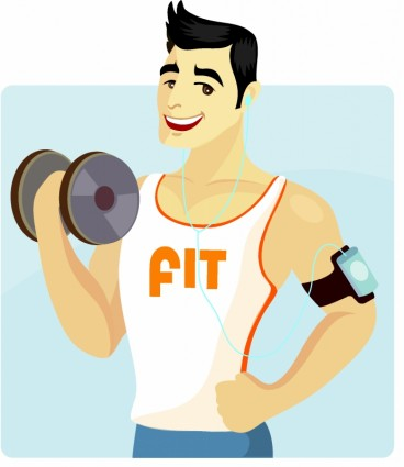 Absolute Fitness   Vector Free Download