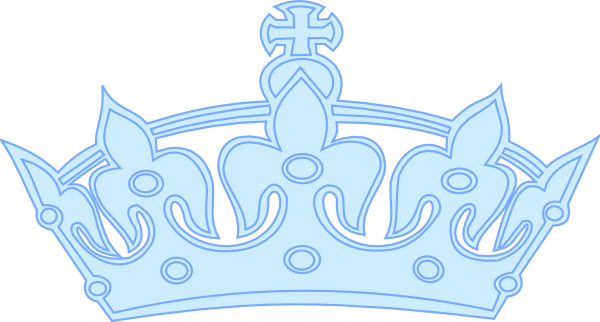 Blue Prince Crown Clip Art