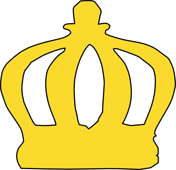 Cartoon Crown Clip Art At Clker Com   Vector Clip Art Online Royalty