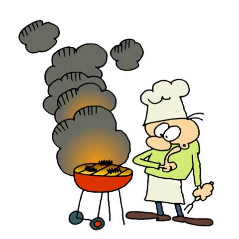 Clipart Grill Cook   Fishing Cartoon Clip Art Funny  14   Doblelol