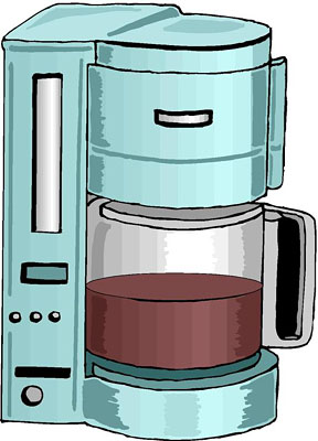 Coffee Maker Clip Art   Food And Drink Pictures