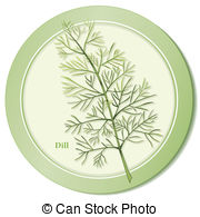 Dill Herb Icon   Dill Herb Icon Thin Needle Like Aromatic