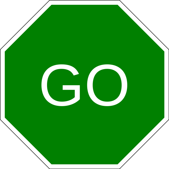 go slow sign clipart clipart suggest