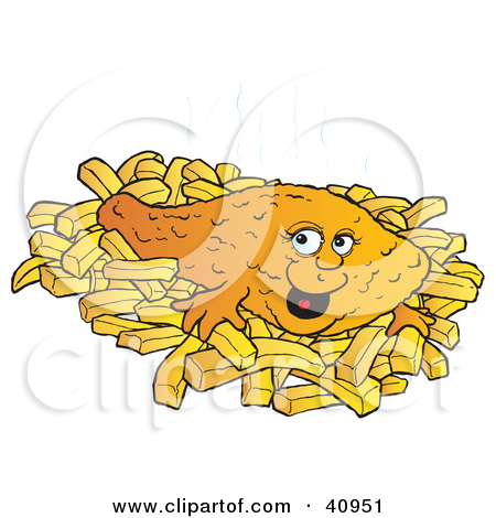 Grilled Fish Clipart