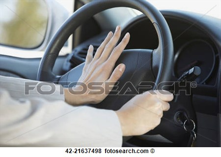 Pictures Of Honking The Car Horn 42 21637498   Search Stock Photos