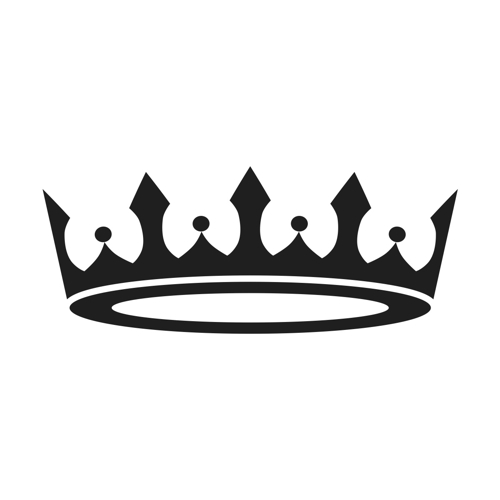 Stencil Premium   Prince Princess Crown