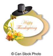 Thanksgiving Day Banner Stock Illustration