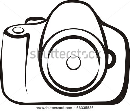Camera Outline Stock Photos Illustrations And Vector Art