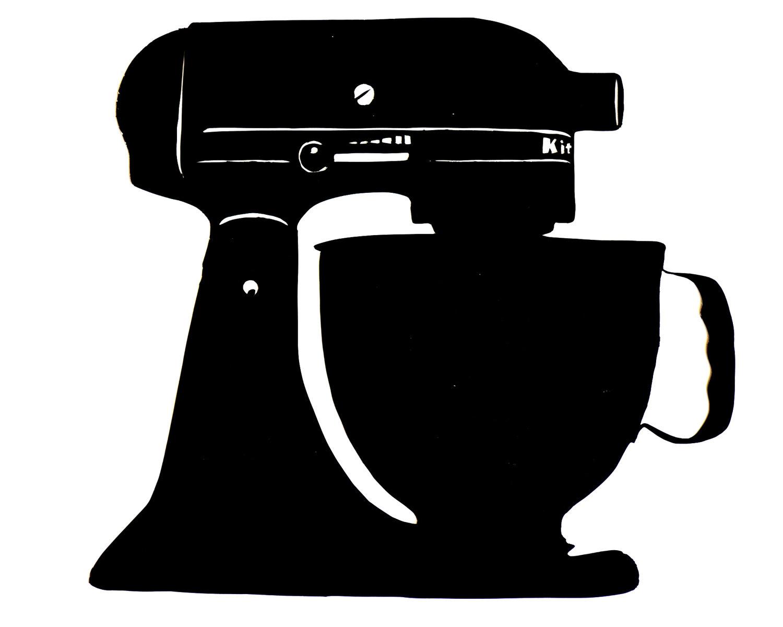 Mixer Clip Art ~ Baking mixer clipart suggest