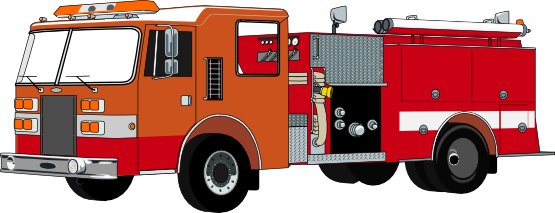Fire Truck Clip Art   Images   Free For Commercial Use