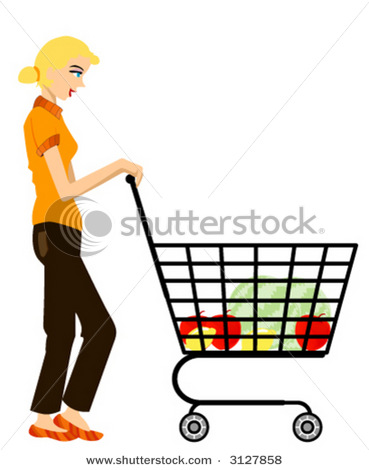 Mom Shopping Clipart - Clipart Suggest