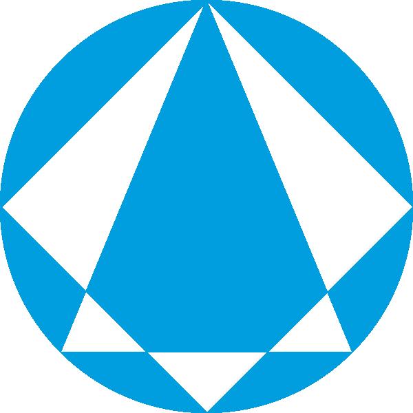 Clip Art Logo Clipart diamond logo clipart kid blue clip art at clker com vector online