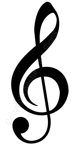 Note Car Stickers   Musical Vinyl Window       Clipart Best   Clipart