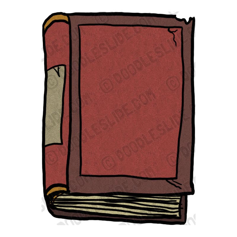 Old Book Clip Art