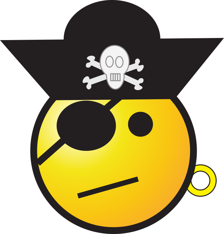 Pirate By Zorro   Pirate Smiley