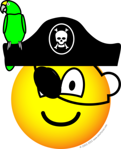 Pirate Smiley Face
