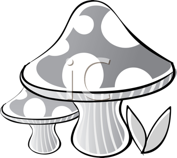 Royalty Free Mushroom Clip Art Nature And Scenic Clipart