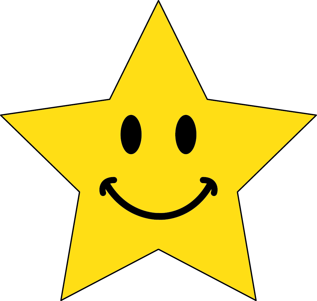 Smiley Face Star Clipart   Clipart Panda   Free Clipart Images