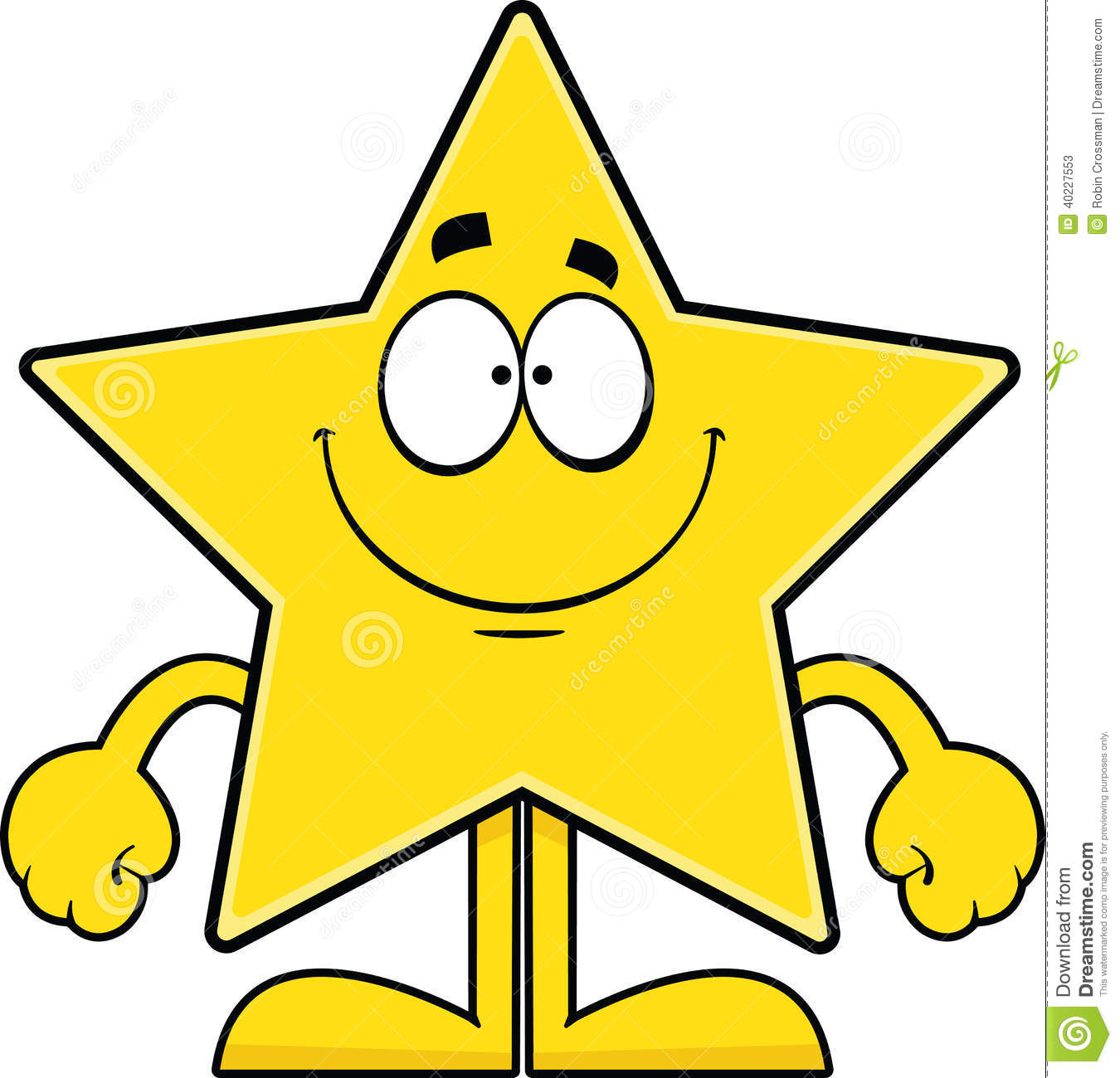 Smiling Star Clipart - Clipart Suggest