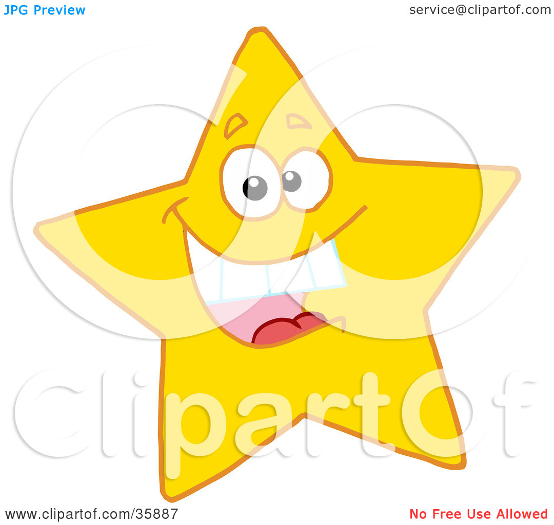 happy star clip art - photo #34