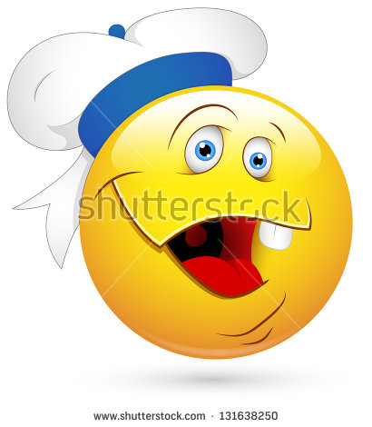 Stock Photo Smiley Illustration Sailor Face 131638250 Jpg