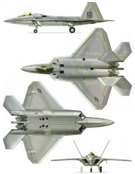 Us Air Force F 22 Usaf Thrust Vectoring Raptor Aircraft History And