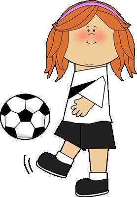 Teenage Girl Soccer Clipart - Clipart Kid