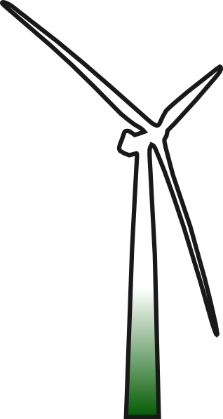 Wind Turbine Clip Art At Clker Com   Vector Clip Art Online Royalty