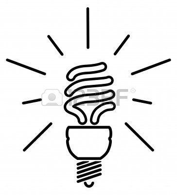 Cfl Bulb Clip Art  Royalty Free  GoGraph