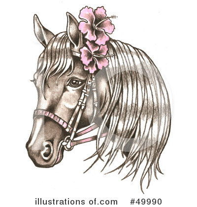 Horse Clipart  49990   Illustration By Loopyland