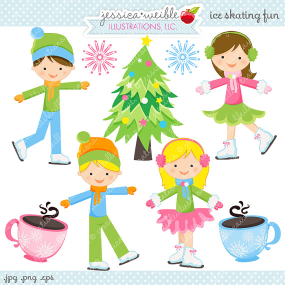 Ice Rink Clip Art Free for Commercial Use