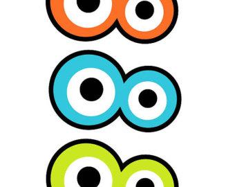 Monster Eyes Clipart - Clipart Kid