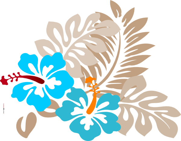 Tropical Flower Clip Art