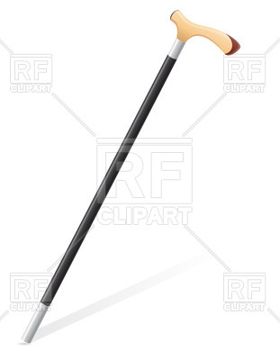 Walking Stick 24644 Objects Download Royalty Free Vector Clip Art
