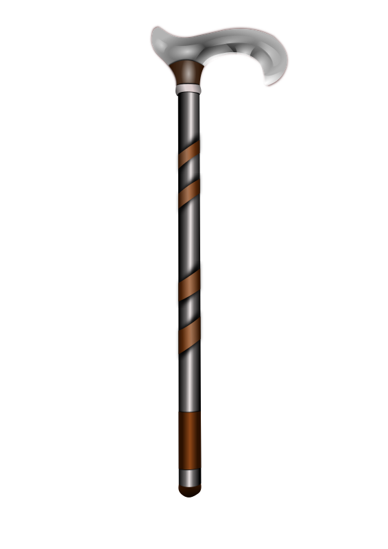 Walking Stick By Hatalar205   A Simple Walking Stick Clipart