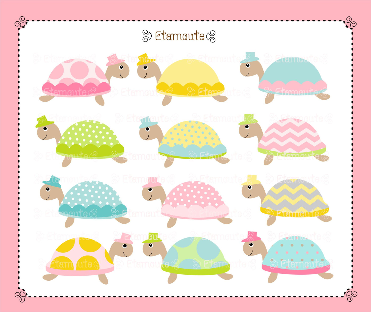 Cute Baby Shower Clipart - Clipart Kid