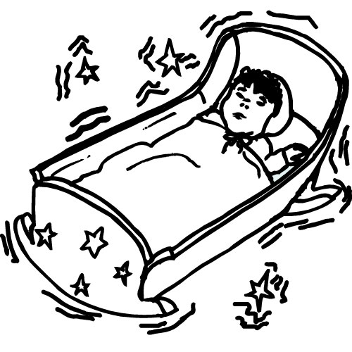 free clip art baby sleeping - photo #49