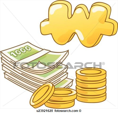 Clipart   Bills Icons Bill Coins Coin Payment Icon  Fotosearch