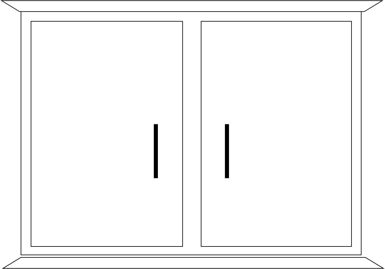 Cupboard Bw   Free Images At Clker Com   Vector Clip Art Online
