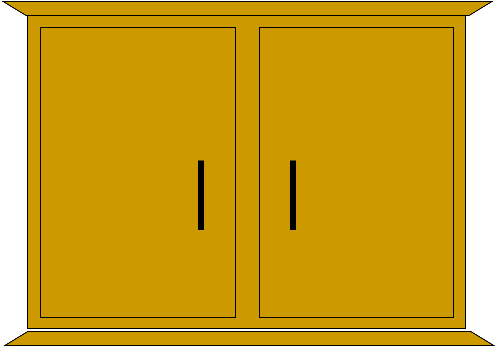 Kitchen cabinet clipart - Cupboard Clipart Galleryhip Com The Hippest Galleries