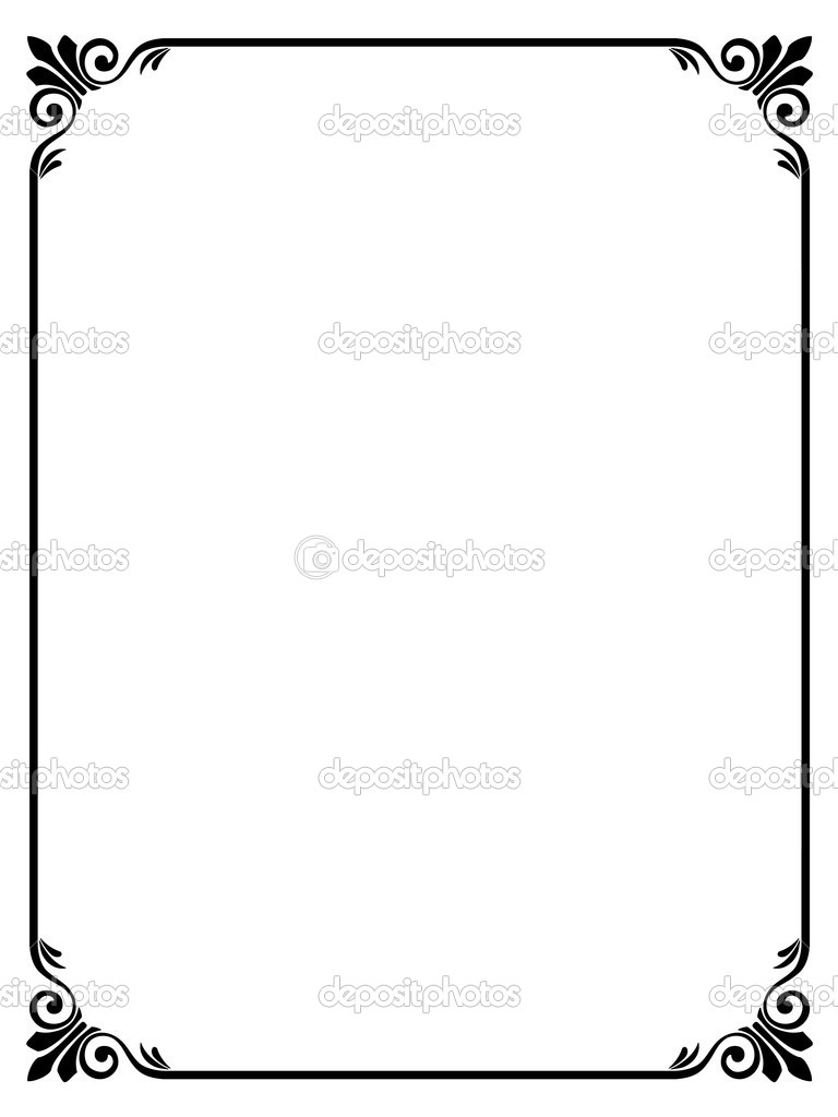 Elegant Frame Vector   Clipart Panda   Free Clipart Images