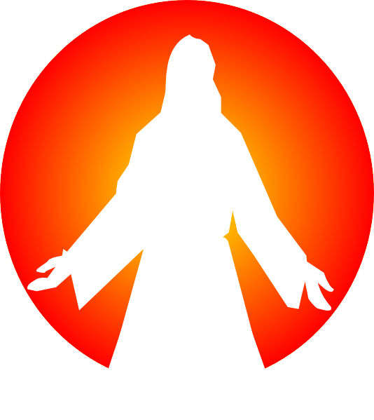 Jesus Christ With Sun Clip Art At Clker Com   Vector Clip Art Online